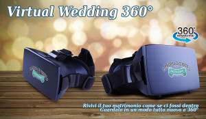 Il Virtual Wedding 360, la realtà virtuale nel tuo matrimonio