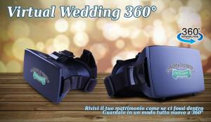 Il Virtual Wedding 360, la realtà virtuale nel tuo matrimonio