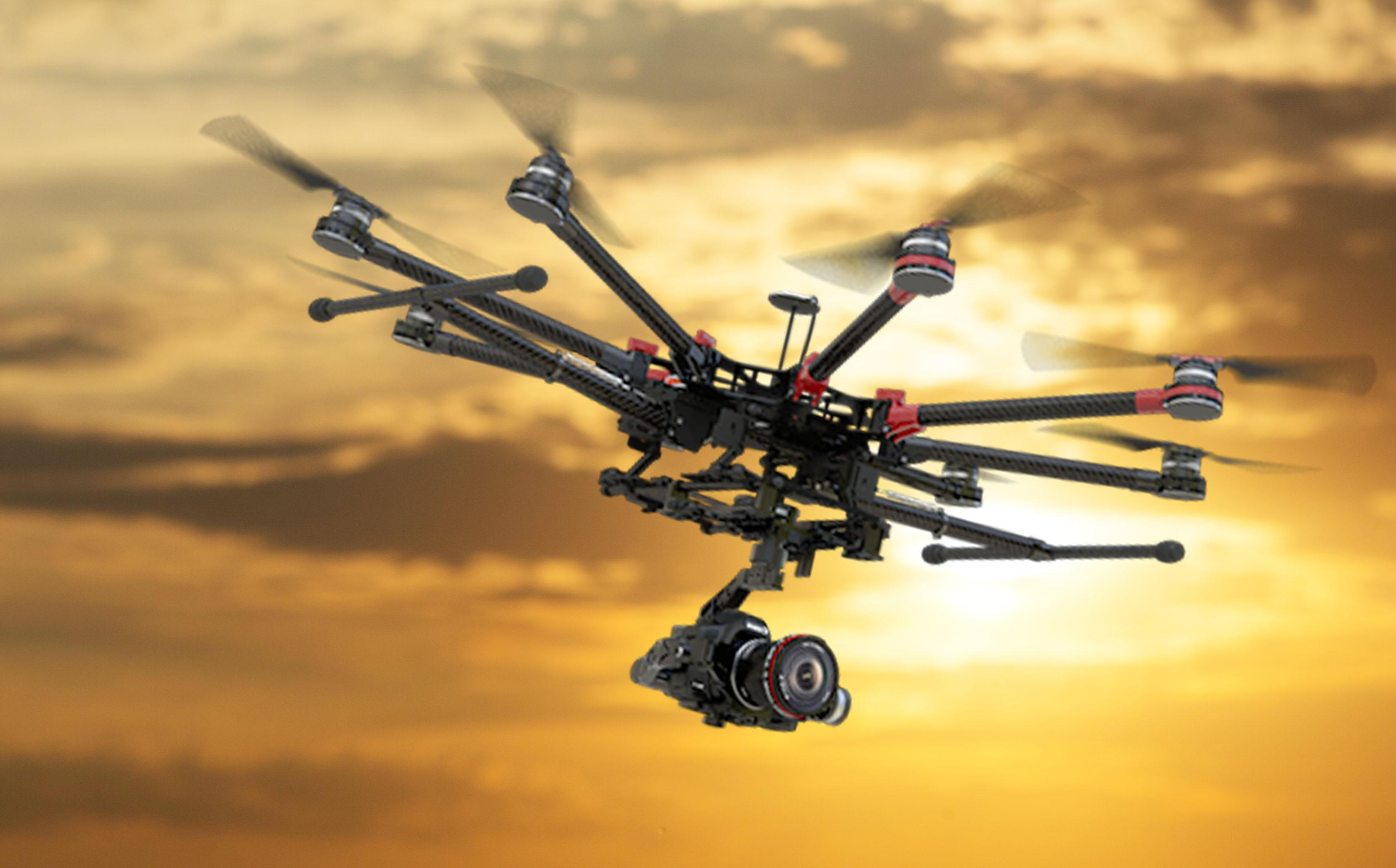 servizio drone matrimonio roma