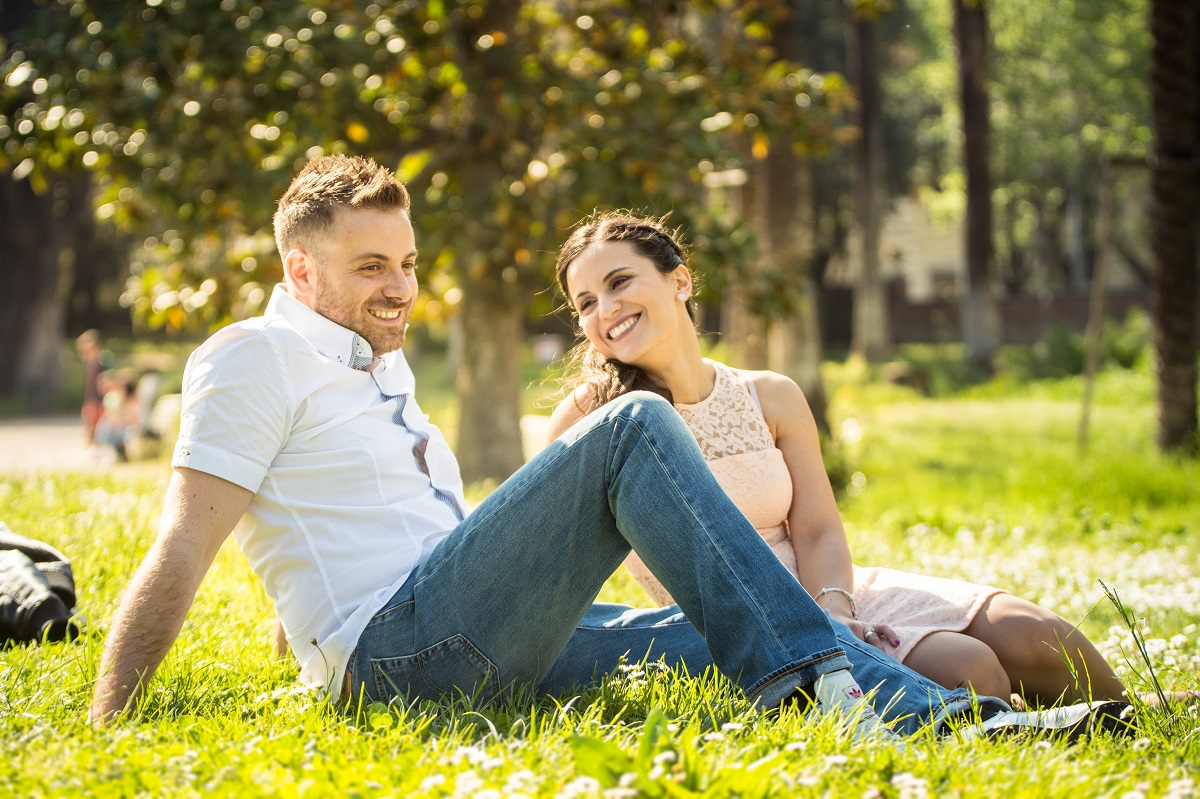 servizio fotografico prematrimoniale roma