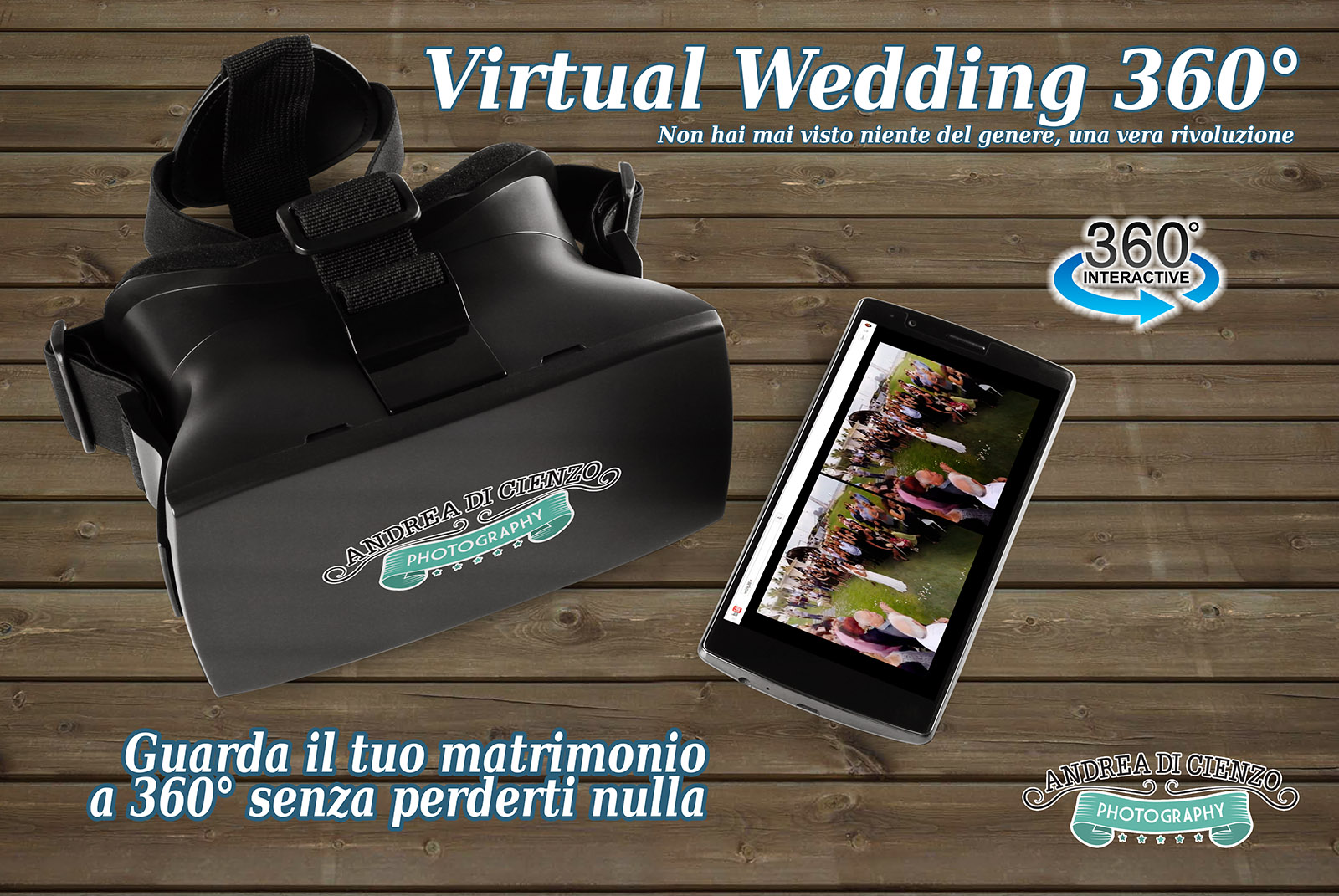 Virtual Wedding 360: video matrimonio roma