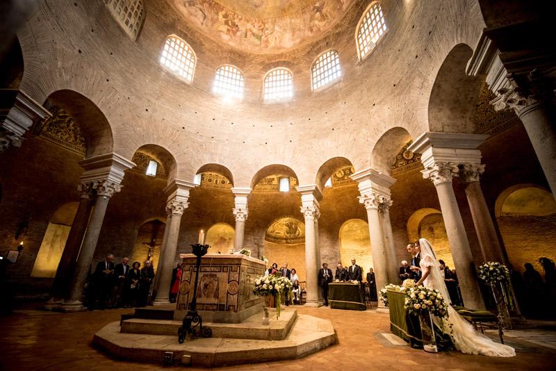 migliore chiesa a roma di matrimonio